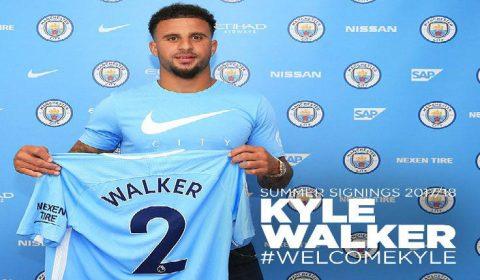 CHÍNH THỨC: Chia tay Tottenham, Kyle Walker gia nhập Man City với mức giá kỷ lục