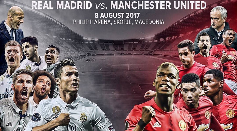Real Madrid vs Man United, 01h45 ngày 09/08: Khát vọng của Quỷ đỏ