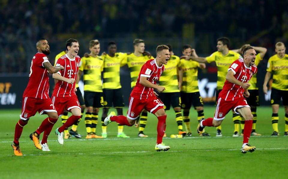 Kết quả Dortmund vs Bayern: Rượt đuổi kịch tính và màn đấu súng nghẹt thở