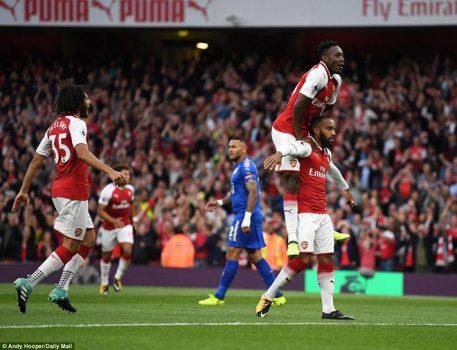 Bom tấn Lacazette nổ súng, Arsenal giành chiến thắng nghẹt thở sau màn rượt đuổi điên rồ với Leicester