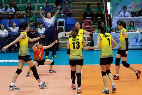 Đánh bại Philippines, tuyển bóng chuyền nữ VN giành tấm HCĐ tại SEA Games 29