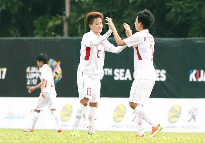 Tuyết Dung lập công, tuyển nữ Việt Nam có khởi đầu như mơ ở SEA Games 29
