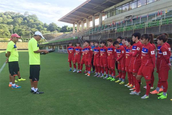 Tuyển nữ Việt Nam thầm lặng chuẩn bị cho SEA Games tại Nhật