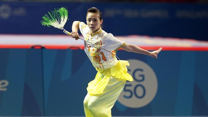 Lịch thi đấu SEA Games 29 của đoàn TTVN 20/8: Chờ vàng từ Thể dục dụng cụ và Wushu