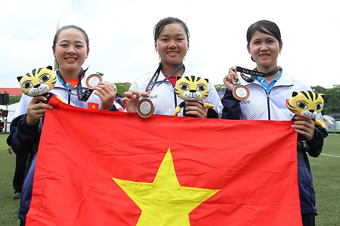 """Bảng tổng sắp huy chương SEA Games 29 (ngày 18/8): Đoàn thể thao Việt Nam """"khát"""" vàng"""
