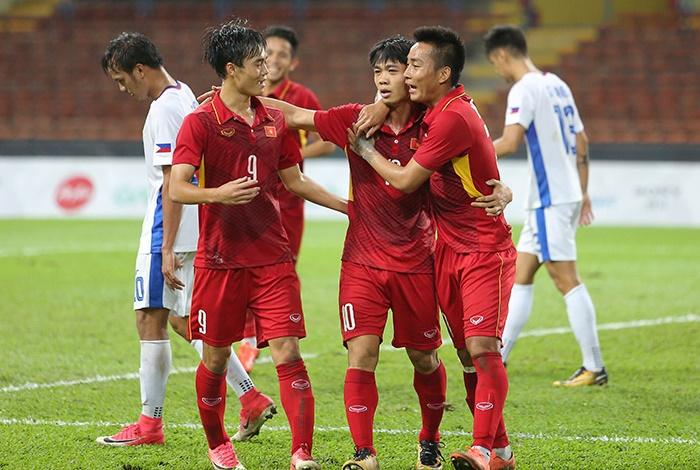 Chấm điểm U22 Việt Nam 4-0 U22 Philippines: Ngả mũ trước quân Bầu Đức