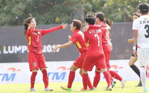Nữ Malaysia – Nữ Việt Nam, 19h45 ngày 24/8: Chờ đợi cơn mưa bàn thắng