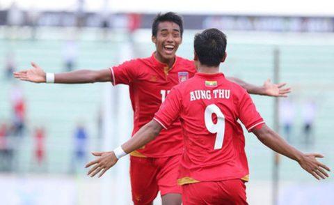 Aung Thu tỏa sáng, Myanmar đánh bại U22 Singapore ngày khai màn SEA Games 29