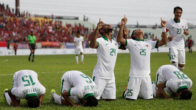 Nhọc nhằn đánh bại Timor Leste, U22 Indonesia tạm chiếm ngôi đầu của Việt Nam