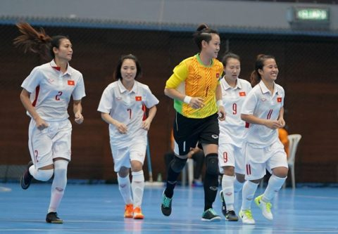 Hạ Indonesia, ĐT futsal nữ Việt Nam cầm chắc huy chương bạc