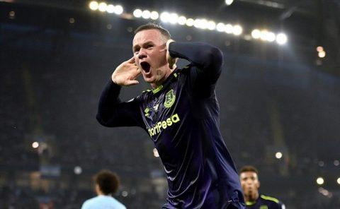 Rooney chạm mốc 200 bàn, Everton khiến Man City 'toát mồ hôi' ngay tại Etihad