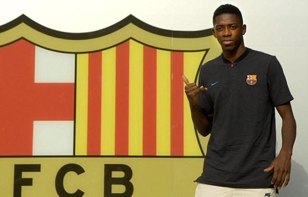 Dembele có mặt tại Camp Nou, chuẩn bị ra mắt Barcelona