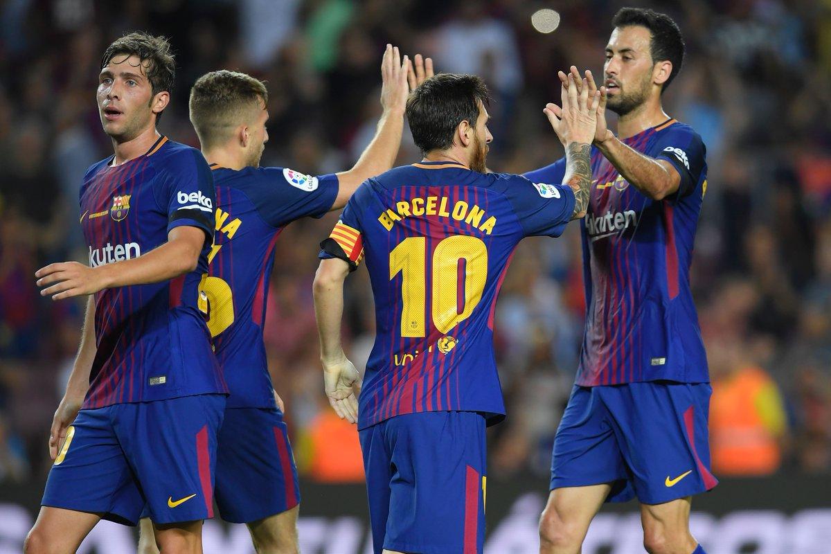 """""""Kẻ đóng thế Neymar rực sáng"""", Barca thắng dễ Betis ngày ra quân"""
