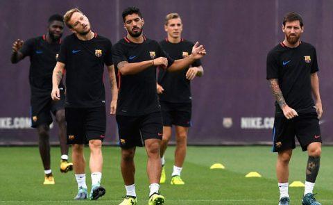 Messi cùng đồng đội căng thẳng trước lượt về siêu cúp Tây Ban Nha