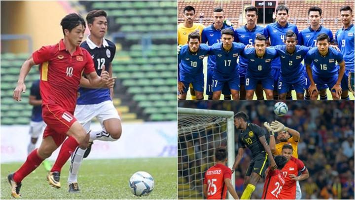 Cập nhật BXH bóng đá Nam SEA Games 29: Thái Lan phả hơi nóng vào U22 Việt Nam