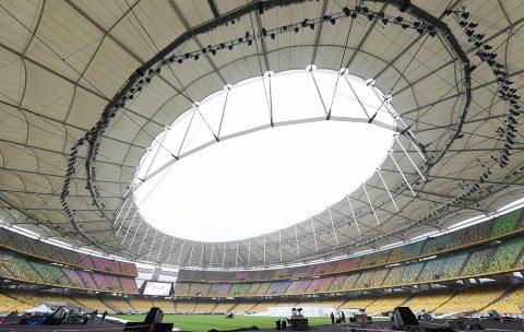 Sân Bukit Jalil tất bật hoàn thiện chờ ngày khai mạc SEA Games 29