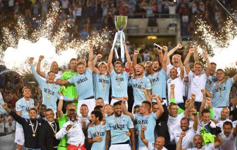 Thắng nghẹt thở Juvetus, Lazio đoạt Siêu cúp Italia