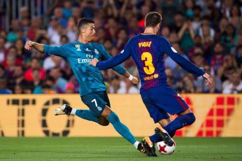 """Ronaldo lập siêu phẩm và nhận thẻ đỏ, Real vẫn """"làm nhục"""" Barca ngay tại Nou Camp"""