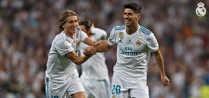 Asensio lại lập siêu phẩm, Real nhẹ nhàng đánh bại Barca giành Siêu cúp