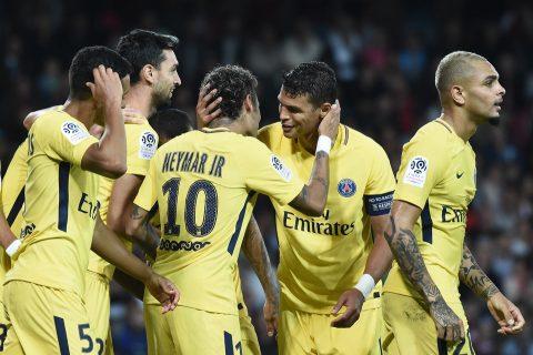Neymar tỏa sáng ngày ra mắt, PSG hủy diệt Guingamp