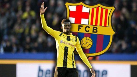 Chia tay Neymar, Barca sẵn sàng chi 100 triệu euro mua sao Dortmund