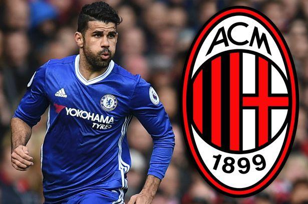 AC Milan ra điều kiện để 'giải cứu' Diego Costa