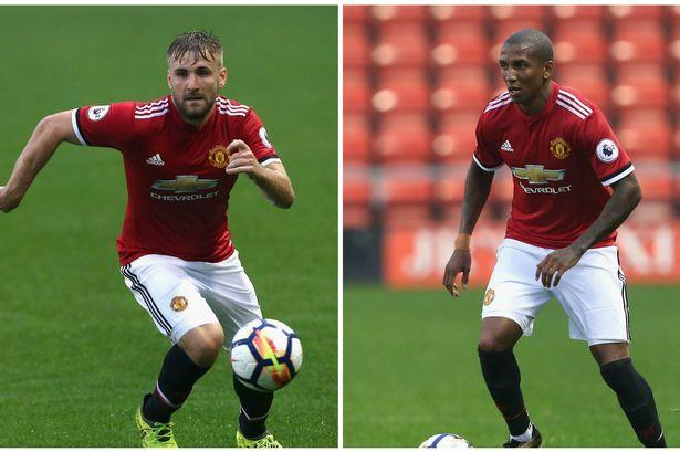 Bình phục chấn thương thần tốc, Shaw và Young tái xuất trong màu áo U23 MU