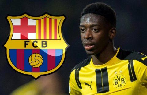 SAO trẻ Dortmund công khai 'tỏ tình' với Barcelona