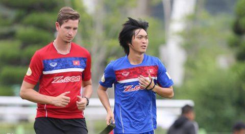 HLV Hữu Thắng cẩn thận với Tuấn Anh, Thanh Bình trước SEA Games