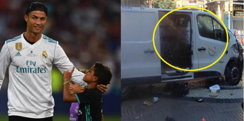 Ronaldo khiến tất cả các Cules phải nể phục với hành động đẹp dành cho các nạn nhân vụ khủng bố ở Barcelona