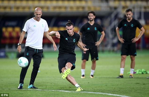 Zidane trong cơn đau đầu khi Mourinho muốn chiêu mộ Bale