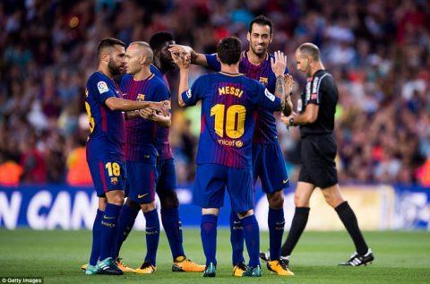 Đại thắng Chapecoense, Barca đoạt cúp Joan Gamper