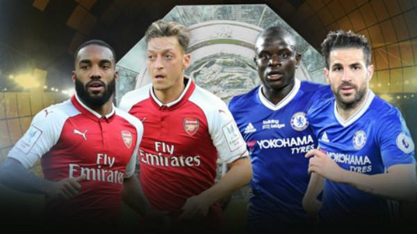Chelsea và Arsenal đá với đội hình nào ở trận tranh Siêu cúp Anh?