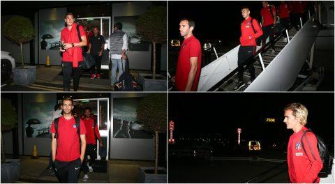 Đến London giữa đêm, dàn sao Atletico vẫn vô cùng rạng rỡ