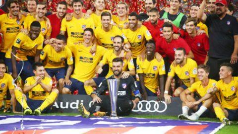 Thắng luân lưu cân não, Atletico đăng quang tại Audi Cup