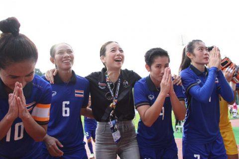 Tuyển nữ Thái Lan tạo lợi thế lớn ở cuộc đua vô địch SEA Games