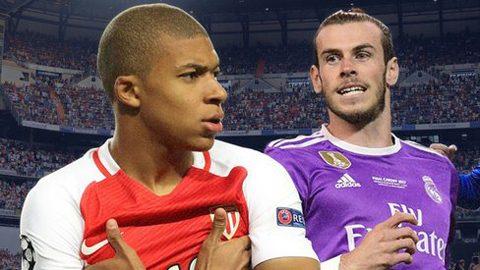TIN CHUYỂN NHƯỢNG 04/8: Real sẽ bán Bale để tậu Mbappe