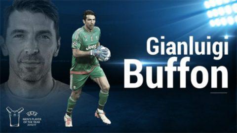 ƯCV cầu thủ hay nhất UEFA 2017 – Gianluigi Buffon