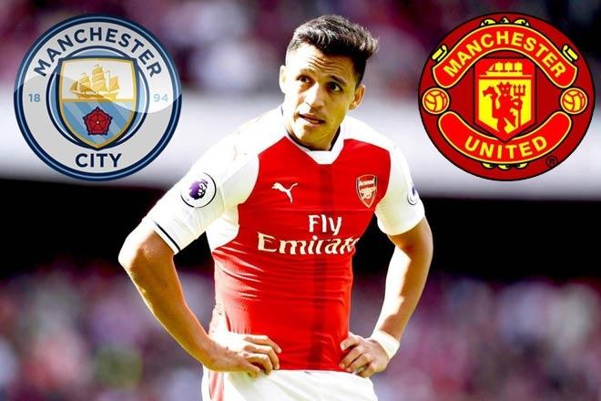 Man Utd bất ngờ vào cuộc, quyết tâm cướp Sanchez trước mũi Man City