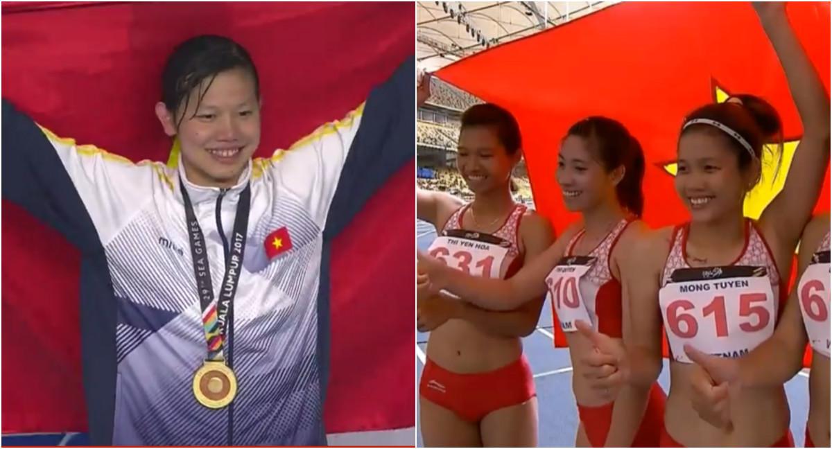 BẢN TIN SEA Games ngày 25/8: Hattrick Vàng cho điền kinh Việt Nam, Ánh Viên giành 2 HCV liên tiếp trong vòng chưa đầy 10 phút