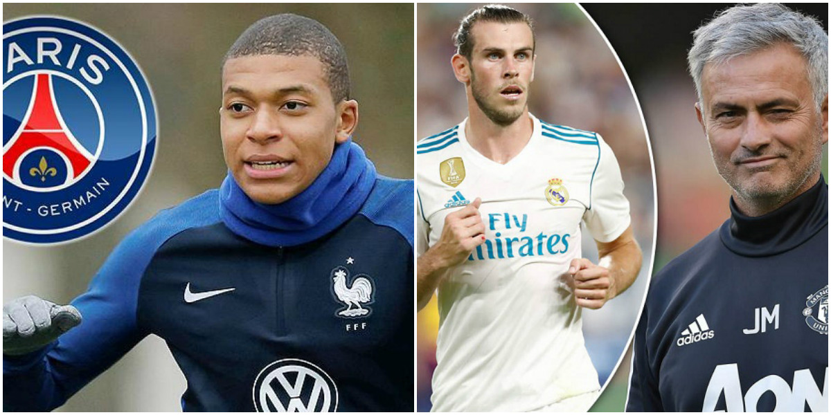 """TIN CHUYỂN NHƯỢNG 10/08: Mbappe """"kết"""" PSG hơn Real; Mourinho thúc giục M.U chốt Gareth Bale bằng lương khủng"""