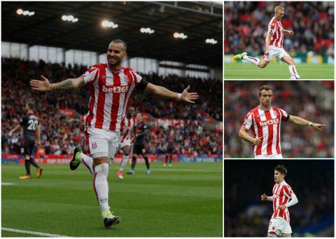 Tân binh Jese Rodriguez và 5 nhà vô địch Champions League có mặt trong đội hình Stoke City