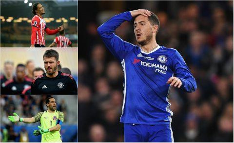 Đội hình các ngôi sao chưa từng ra sân ở Ngoại hạng Anh mùa này