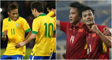 BXH FIFA tháng 8/2017: Selecao trở lại vị trí số 1 thế giới, Việt Nam đứng thứ 3 Đông Nam Á