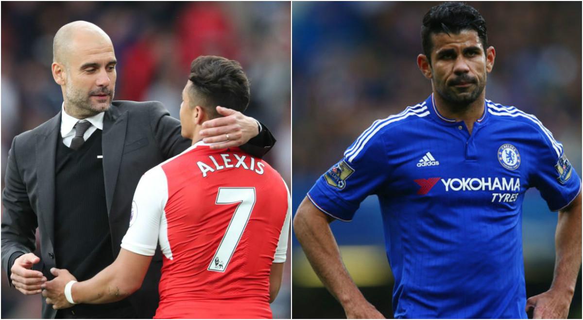 TIN CHUYỂN NHƯỢNG 15/08: Pep Guardiola quyết tái hợp Sanchez; Atletico thong thả với Costa