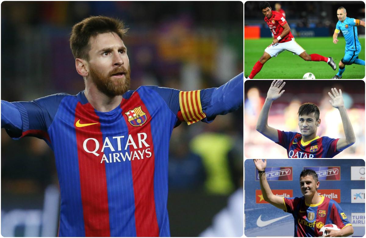 Top 10 bản hợp đồng đắt giá nhất Barca: Có bom tấn Paulinho, không Messi