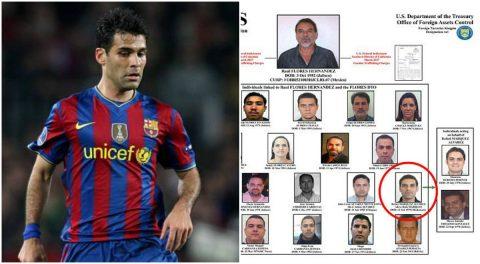 Cựu trung vệ Barcelona dính nghi án buôn bán số lượng ma túy cực lớn