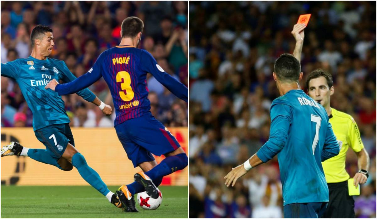 Ronaldo cùng Pique tạo nên sự kiện hy hữu có 1-0-2 ở trận tranh siêu cúp Tây Ban Nha