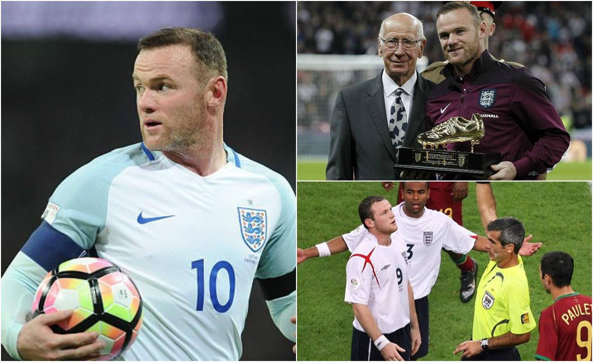GÓC THỐNG KÊ: Sự nghiệp lẫy lừng của Wayne Rooney ở tuyển Anh qua những con số