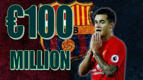 TIN CHUYỂN NHƯỢNG 01/08: Barcelona nâng giá hỏi mua Coutinho lên 100 triệu